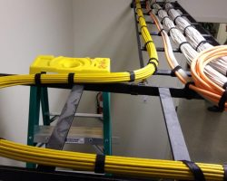 Implementation and works about structured cabling for building 15